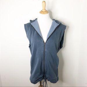 FP Movement Oversized Sleeveless Zip Up Jacket